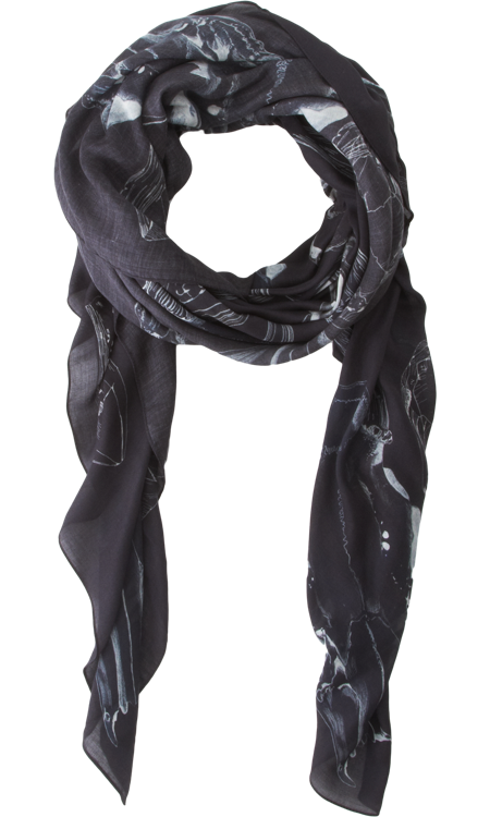 exclusively at barneys forget me not scarves