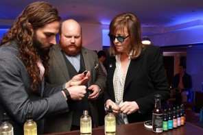 Jane Rosenthal at Bombay Sapphire Custom Tonic Bar at Storyscapes Exhibition